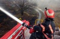 Ночью в Хмельницкой области горели зерносклады Староконстантиновского элеватора