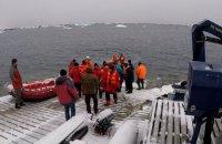 Украинские полярники прибыли в Антарктиду после обсервации