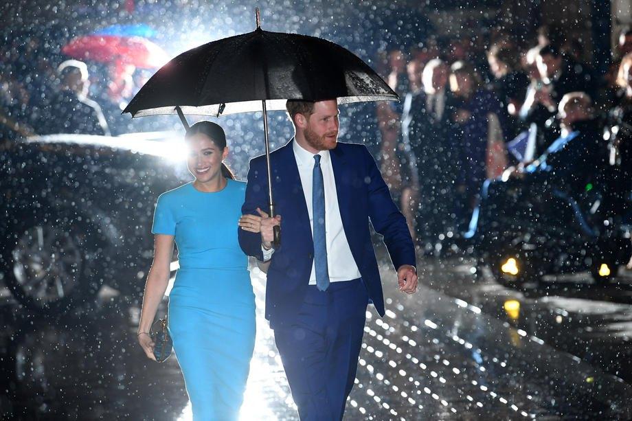 Принц Гаррі і герцогиня Сассекська Меган Маркл