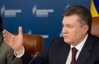 Янукович обещает реакцию на морозы