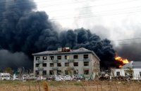 Жертвами вибуху на хімзаводі в Китаї стали вже 64 людини, 640 поранених