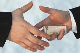 В Днепропетровской области чиновник попался на взятке в 40 тыс грн