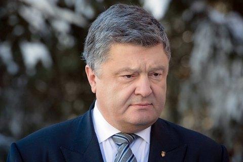 Порошенко відмовився спілкуватися з російськими журналістами
