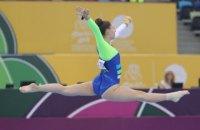 Європейська федерація призначила нові дати проведення чемпіонату Європи з художньої гімнастики в Києві