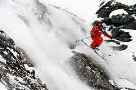 В Швейцарии проходят соревнования по фрирайду
