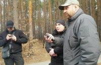 """Охранники Медведчука пытались задержать съемочную группу """"Наших грошей"""" в Пуще-Водице и вызвали полицию"""