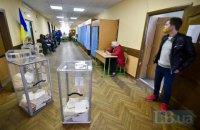 Наибольшая явка избирателей зафиксирована в Тернопольской, Львовской и Волынской областях