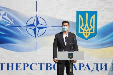 """Зеленський розказав про план """"Б"""" щодо вступу України в НАТО"""