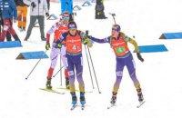 Сборная Норвегии защитила титул чемпиона мира по биатлону в сингл-миксте