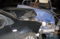 ДТП в Киеве: ВАЗ-2106 влобовую протаранил Volkswagen Polo