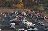 В Виргинии водитель въехал в толпу по дороге с гонки NASCAR: 22 пострадавших
