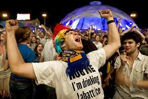 Харьковскую фан-зону посетили 145 тыс. болельщиков