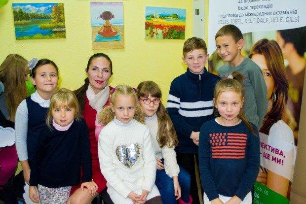 Директор детского бизнес-клуба Оксана Коляда и ее будущие ученики