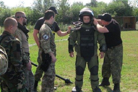 НаЛьвовщине прошли учения украинских иамериканских взрывотехников
