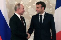 Макрон пообіцяв Путіну приїхати в Москву наступного Дня Перемоги, - росЗМІ