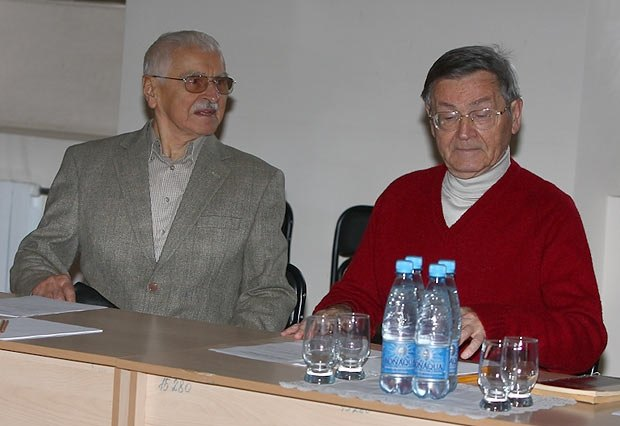 Евгений Сверстюк и Иван Дзюба