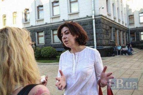 Сыроид объявила голодовку вслед за Березюком