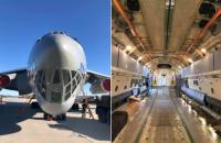 Украина отправила в Китай грузовой самолет за тестами и медоборудованием (обновлено)