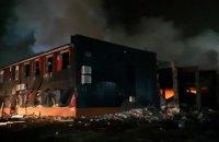 На маслозаводі в Дніпрі стався вибух і пожежа