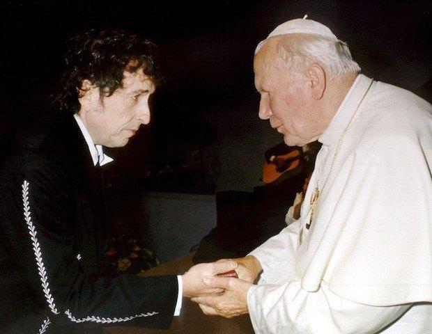 Боб Ділан та Іоанн Павло ІІ, 1997