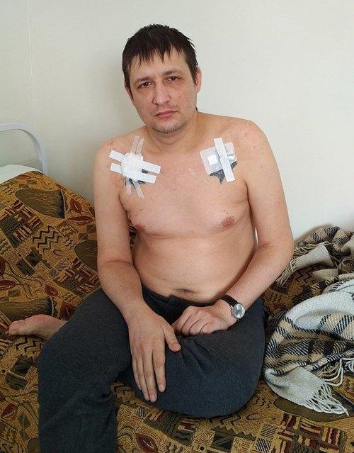 Евгений Танцур на лечении в Харьковском областном противотуберкулезном диспансере