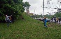 Державна профільна інспекція зупинила скандальне будівництво на Протасовому Яру