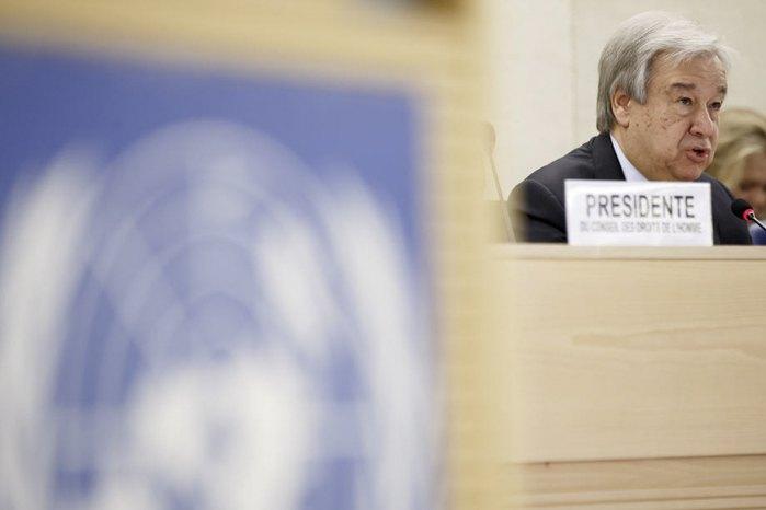 Генеральный секретарь ООН Антониу Гутерриш