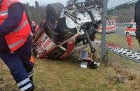 В Германии на гонках автомобиль вылетел в толпу, погиб зритель