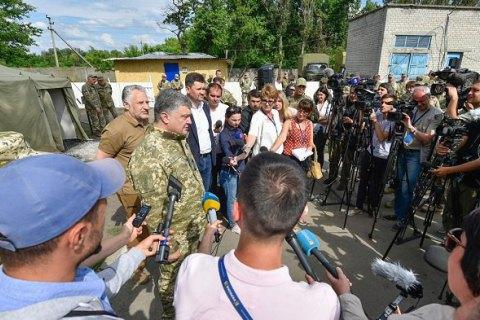 Порошенко пояснив заяву Турчинова про скасування АТО (оновлено)