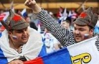 Російські вболівальники мало не побили футболістів збірної
