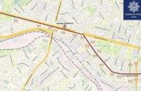 Завтра из-за легкоатлетического пробега в центре Киева ограничат движение общественного транспорта