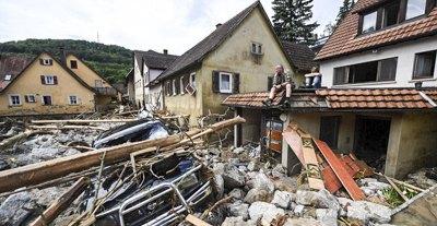 Повінь у Німеччині: вода відступила, а лихо залишилось