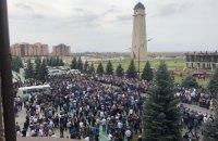 В Ингушетии произошли волнения из-за передачи земель Чечне