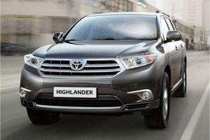 Toyota Highlander - комфортний повнопривідний кросовер