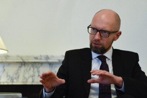 Яценюк: ситуація в Азові показала, що зв'язок між Україною і НАТО не настільки сильний, як ми очікували
