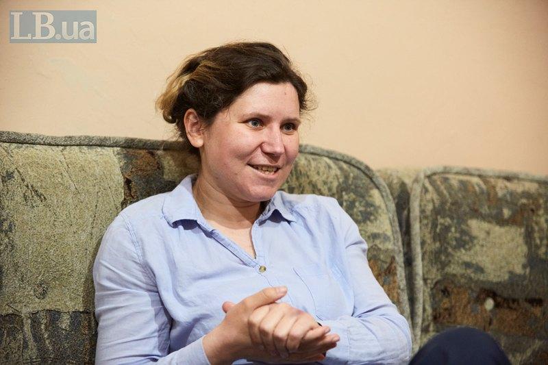 Співкерівниця благодійного фонду ICAN Оленка Стасюк