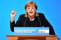 Меркель: ЄС робить все, щоб уникнути загострення ситуації в Україні