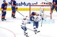 В финале конференции НХЛ забросили три шайбы за 27 секунд