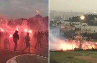 """Фани """"Марселя"""" підпалили базу клубу і поранили футболіста, а матч проти """"Ренна"""" був скасований"""