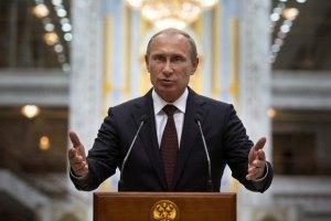 Рейтинг Путина начал снижаться