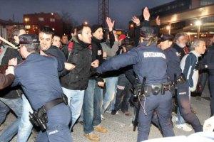 Протесты испанских шахтеров завершились арестами
