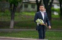 Зеленский приехал в поселок Меловое на границе с Россией
