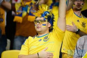 Мэр Львова не видел на игре Украина - Сан-Марино нацистских символов