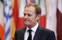 Голова Євроради обговорює з Меркель і Олландом можливість прив'язати санкції до мінських угод