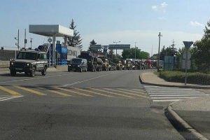 Погранслужба подтвердила заезд в Украину военной техники из Венгрии