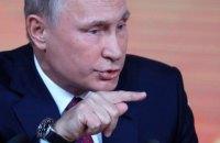 Путін відповів на питання Собчак про участь Навального у виборах