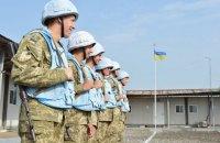 Заслуги українських миротворців дозволяють розраховувати на місію ООН на Донбасі, - Порошенко