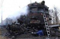 В Волынской области электричка врезалась в грузовик