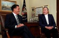 Буш-молодший підтримав Ромні на виборах