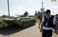 ОБСЕ зафиксировала отвод 30 танков ЛНР от линии разграничения